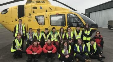 CVQO Trip to Hampshire and Isle of Wight Air Ambulance Station (HIOWAA)