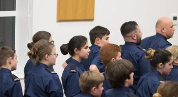 Volunteer Police Cadet Attestation Ceremony