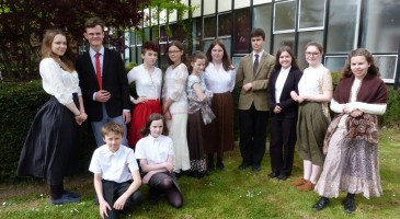 TPS Students Celebrate Jane Austen