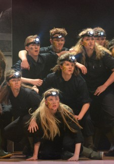 Rock Challenge 2016 Miners & lights cropped