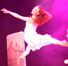 Rock Challenge 2016 Owen & Abi leaping cropped