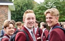 CSS 3 boys smiling