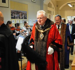 A Visit From The Lord Mayor!