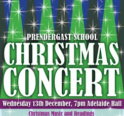 Prendergast School Christmas Concert!