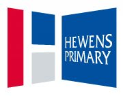 Hewens Primary logo
