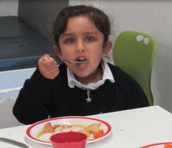 Reception's First Lunchtime