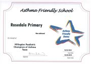 RPS Asthma Friendly School 2018