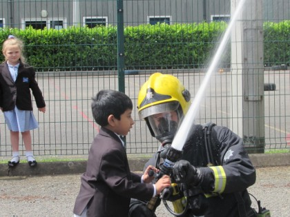 Fire Brigade Visit 9th June 20...