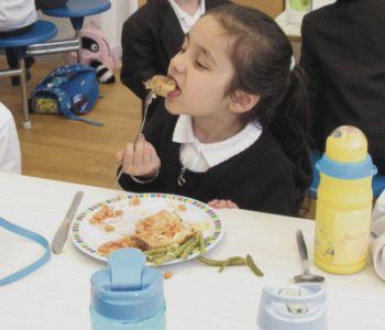 Reception First School Lunch