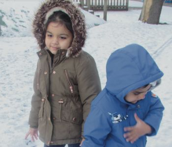 Nursery Snow Fun!