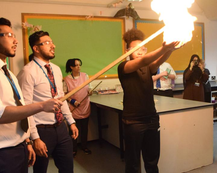 Science Week goes with a bang at Royal Docks