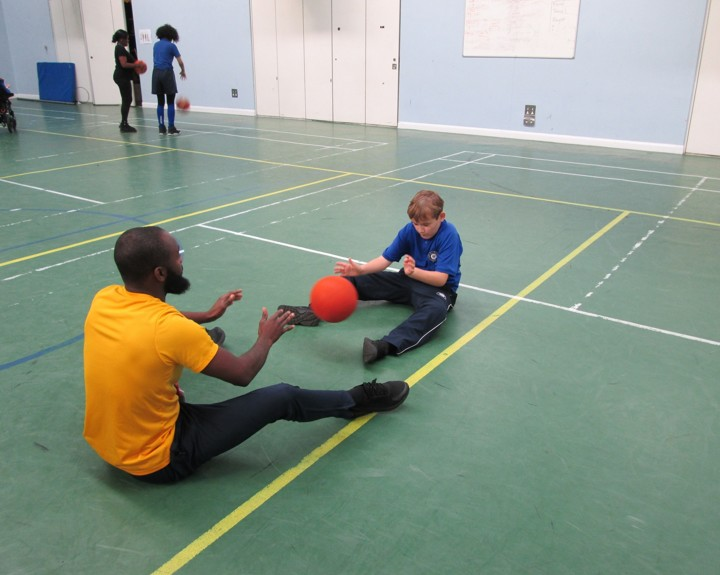 Sport for students with profound learning difficulties
