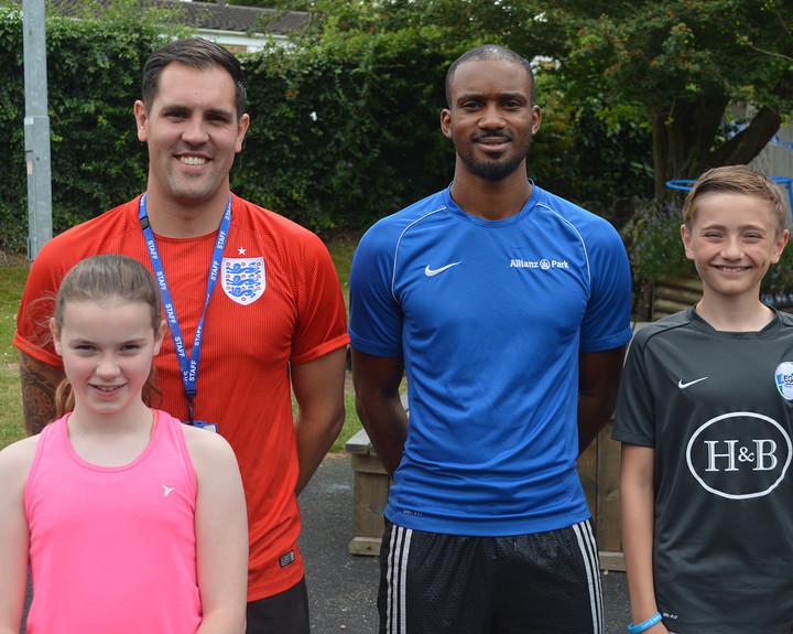 Team GB athlete inspires children