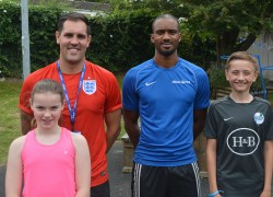 Team GB athlete inspires children