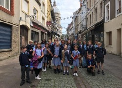 Overseas trip a first for primary schools