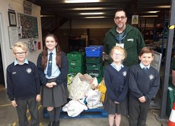 Pupils' selfless acts during harvest