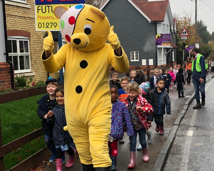 Children in Need in Roydon