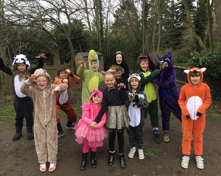 Book Day is more than fancy dress at Roydon