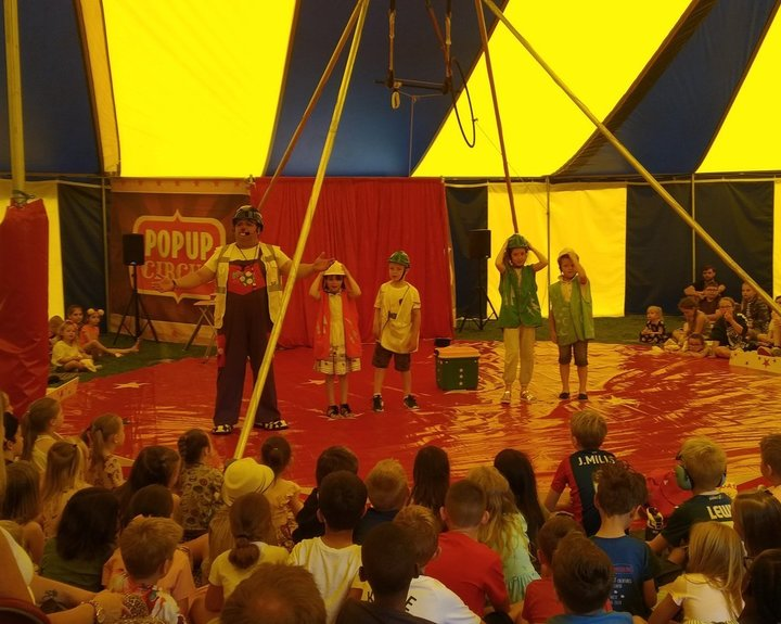 Circus comes to School