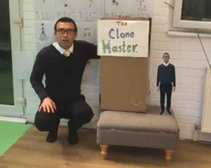 "Teacher ""clones"" himself for each pupil"