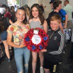 Sandwich Technology were lucky enough to lay a wreath at the Menin Ga