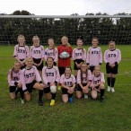 STS u14 Girl�s Football team VS St Edmunds Dover