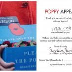 Sandwich Technology School Poppy Appeal