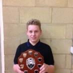 Senior badminton winner