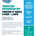 Transition Event for Parents/ Carers of Children with SEN&D