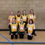 u12 girl's netball
