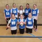 u13 girl's netball