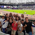 The World Para Athletics Championships at the Queen Elizabeth Stadium