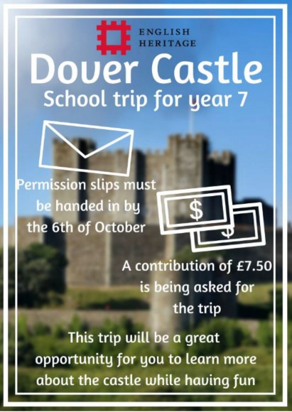 Dover castle Poster for trip