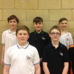Year 7 badminton Sandwich Vs Astor College