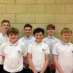 Yr 9 badminton team