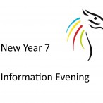 New Year 7 Information Evening Thursday 9th May 2019