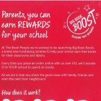 The Big Book Boost – Earning rewards for the school