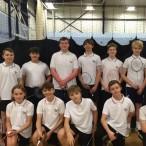 U14 badminton tournament at Ursuline