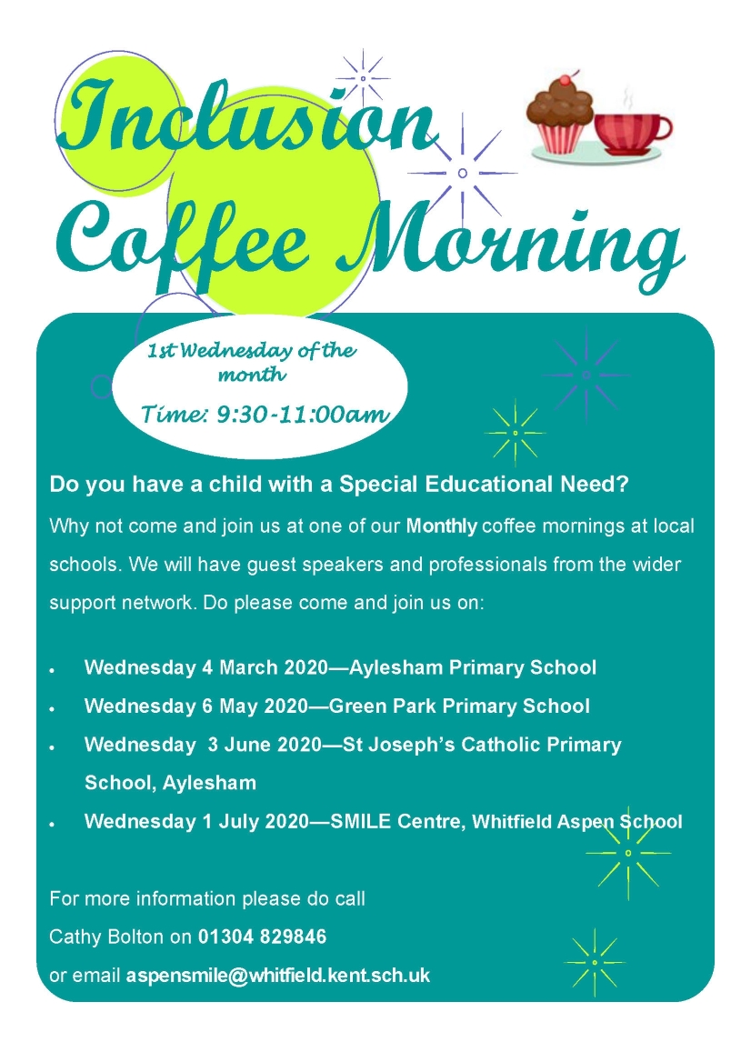 coffee morning flyer Jan 2020