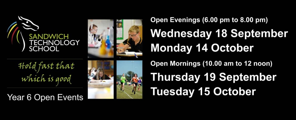 New Intake Open Events