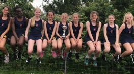 Year 7 Athletics Team are 'District Champions'!!
