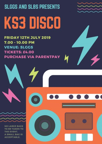 Copy of KS3 DISCO