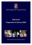 cover 6th Form PROG OF COURSES BOOKLET 2020 final