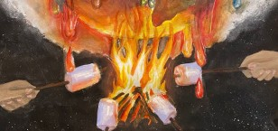 Student shortlisted for prestigious art competition!