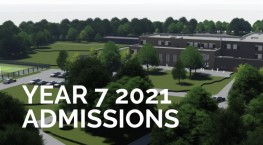 Year 7 2021 Admissions Information