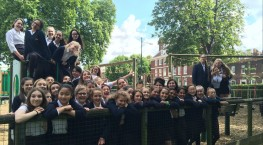 Year 7 Chatham Maritime Trip Report
