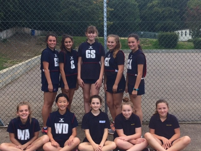 year 8 netball team sept 2017 28th