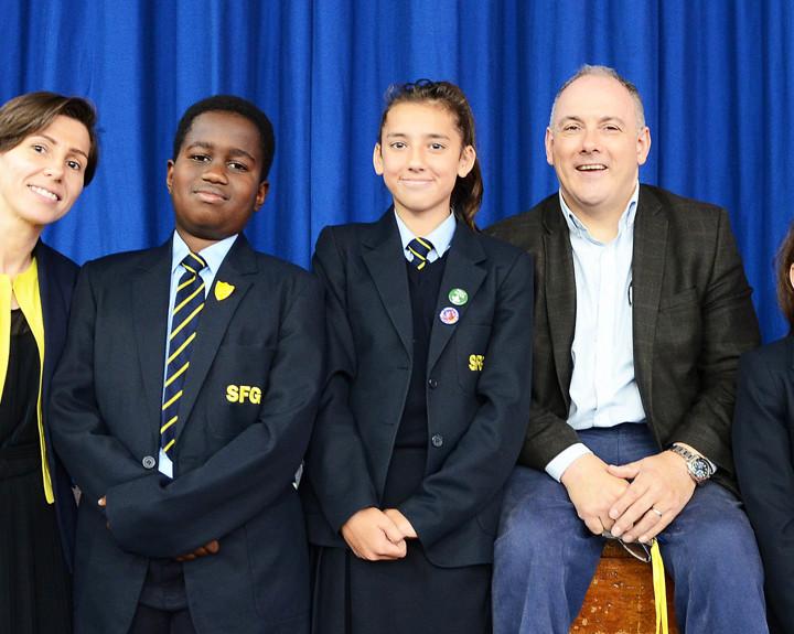MP praises brand-new school