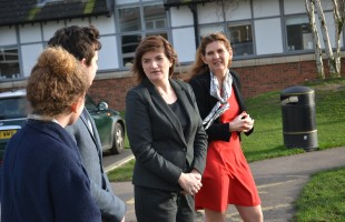 Visit from Nicky Morgan