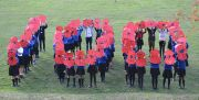 Students take part in the #ThankYou100 campaign